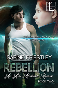 Book Cover: Rebellion - Alien Attachments #2