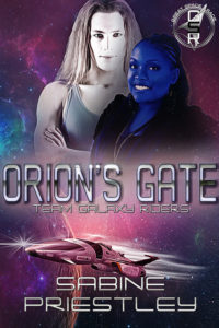 Book Cover: Orion's Gate: Team Galaxy Riders. The Great Space Race!