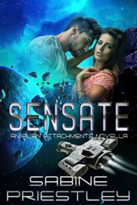 Book Cover: Sensate - A Standalone Novella in the Alien Attachments Series